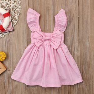 Other - NEW! Pink Ruffle Sleeve Dress